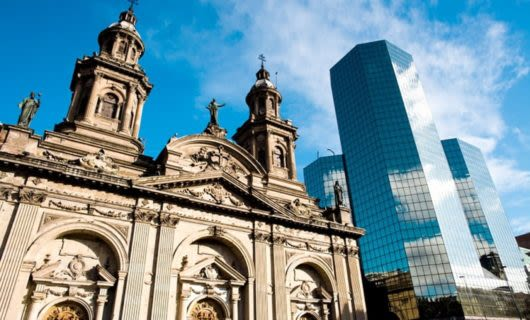Metropolitan Cathedral in Chile