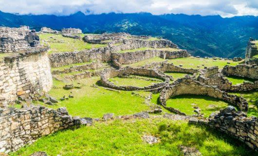 Ruins of ancient civilization in Peru