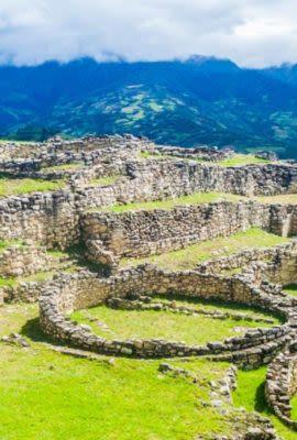 Ruins in northern Peru