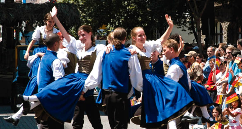 Oktoberfest group celebrates