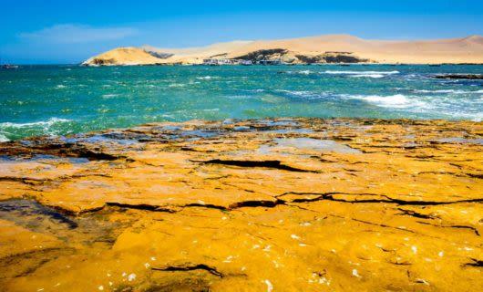 Paracas Bay in Peru