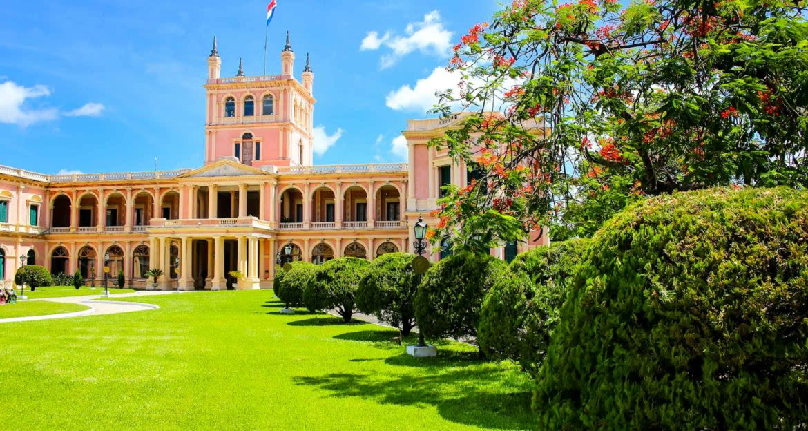 Presidential Palace in Paraguay