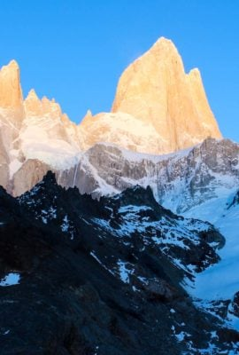 Peaks of Patagonia mountain range