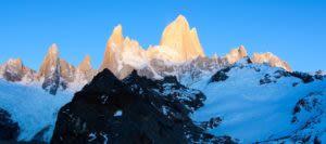 Peaks of Patagonia mountain range