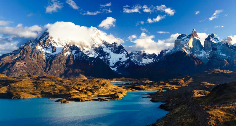 Patagonia mountain panorama