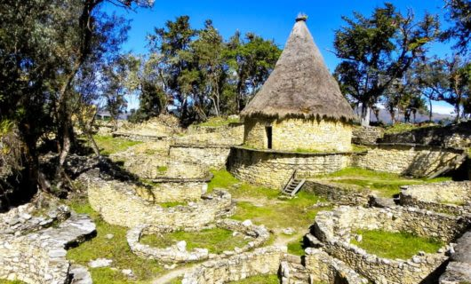 Keulap Ruins in forest of Peru