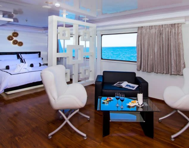 Suite of Petrel cruise ship