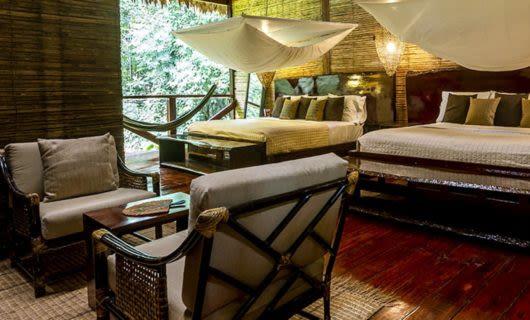 Bedroom suite of Posada Amazonas