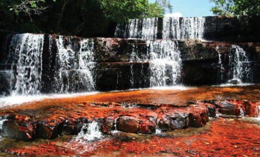 Waterfalls in Santa Elena Venezuela