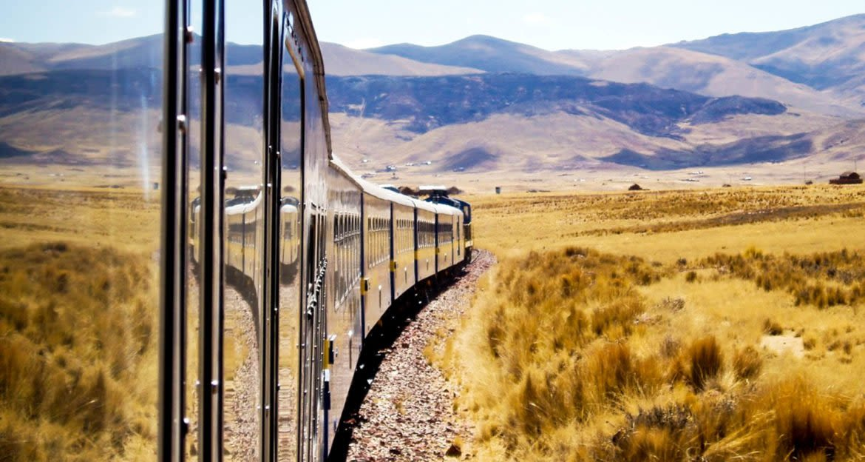 Side of train reflects field