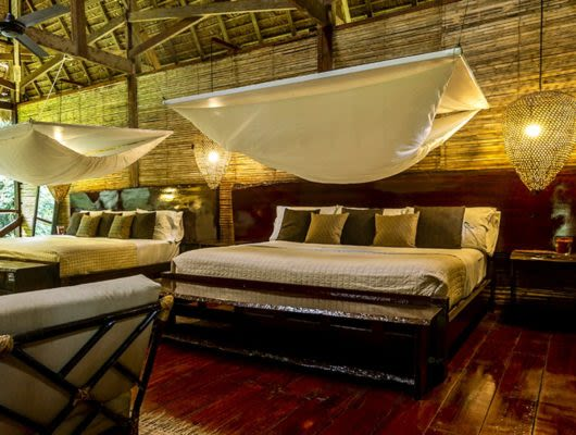 Refugio Amazonas Peru Jungle Lodge room