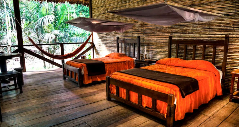 Bedroom of Refugio Amazonas