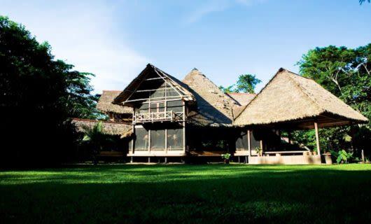 Exterior of Inkaterra Reserva Amazonica Lodge