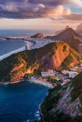 Aerial view of Rio de Janeiro, experience this and more on our Brazil Tour Packages