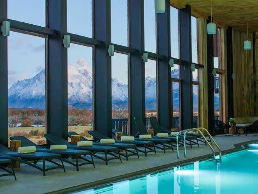 Rio Serrano Lodge pool