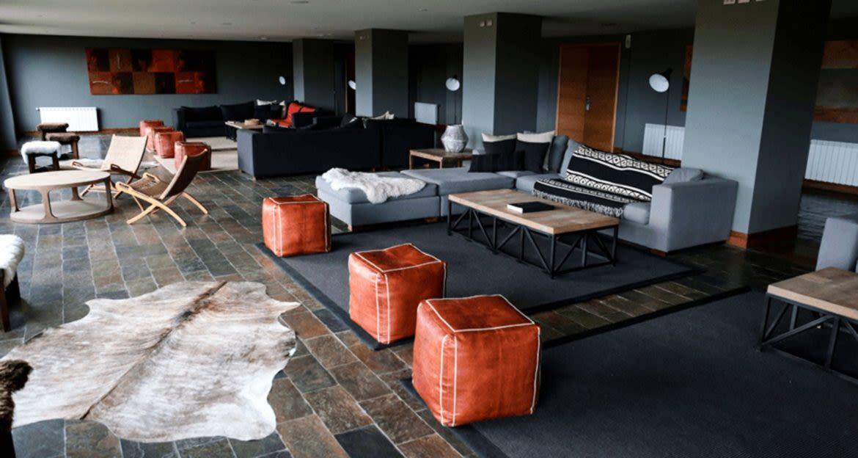 Lounge of Rio Serrano Lodge