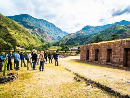 Salkantay Trek to Machu Picchu group
