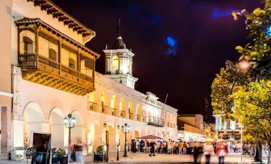 Evening on Salta street