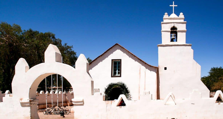 San Pedro de Atacama church in Chile