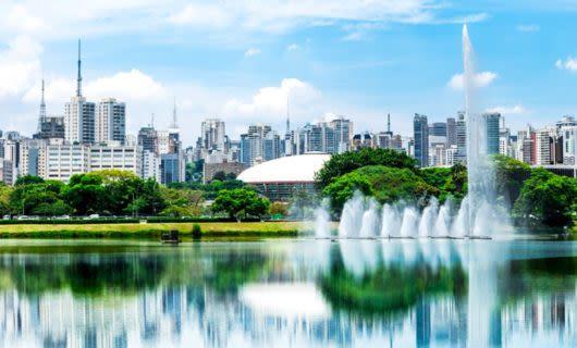 Skyline of Sao Paolo, Brazil