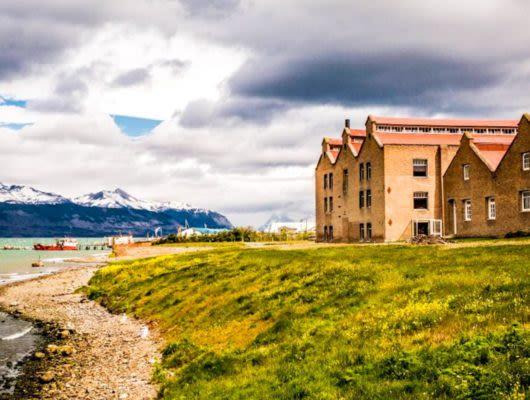 Exterior of The Singular Patagonia Hotel