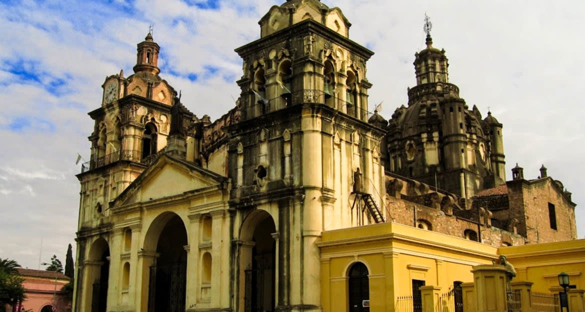 Large cathedral in South America