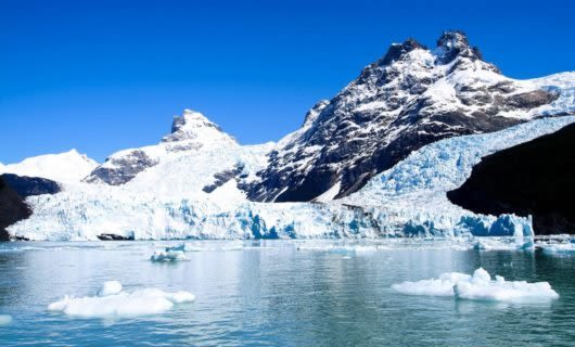 Spegazzini Glacier in Argentina