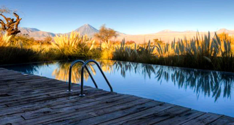 Outdoor pool at Tierra Atacama Hotel