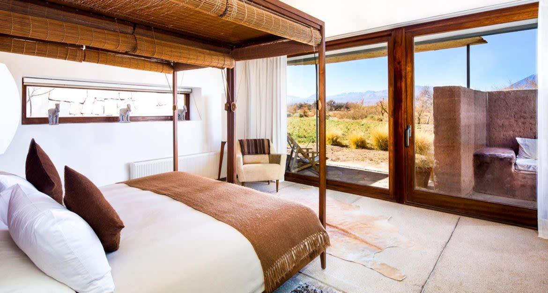 Bedroom of Tierra Atacama Hotel