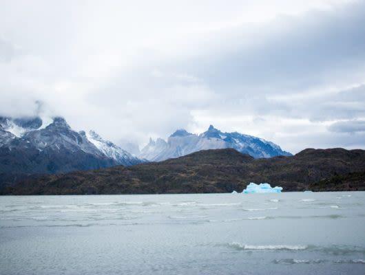 Mountains near Tierra Patagonia Hotel