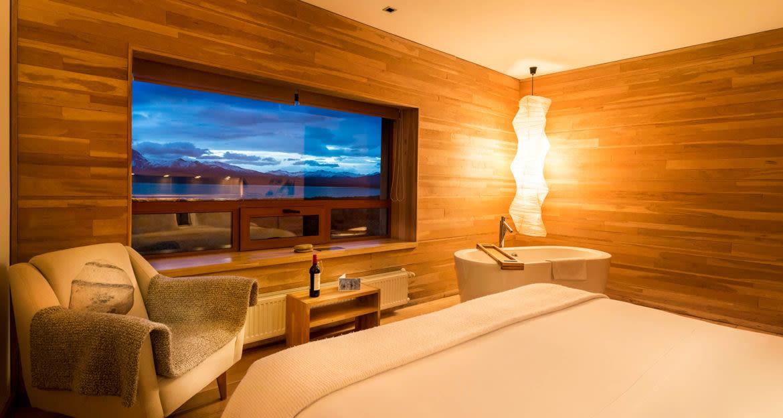 Standard room of Tierra Patagonia Hotel