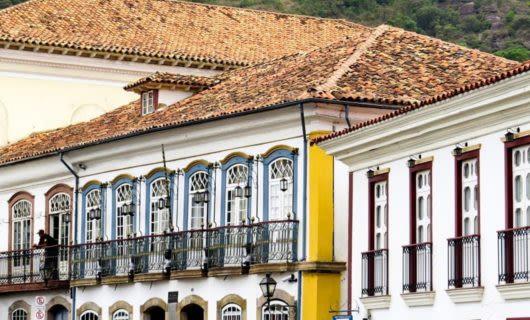 Building in Tiradentes, Brazil