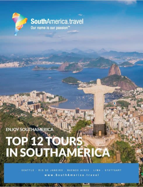 Top South America Tours brochure cover