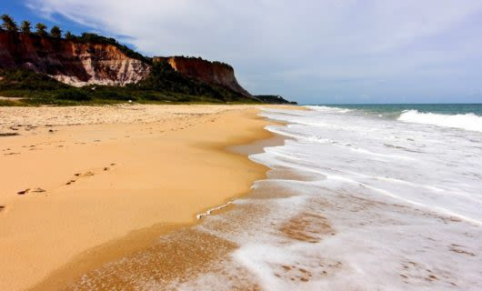 Beach at Trancoso, Brazil