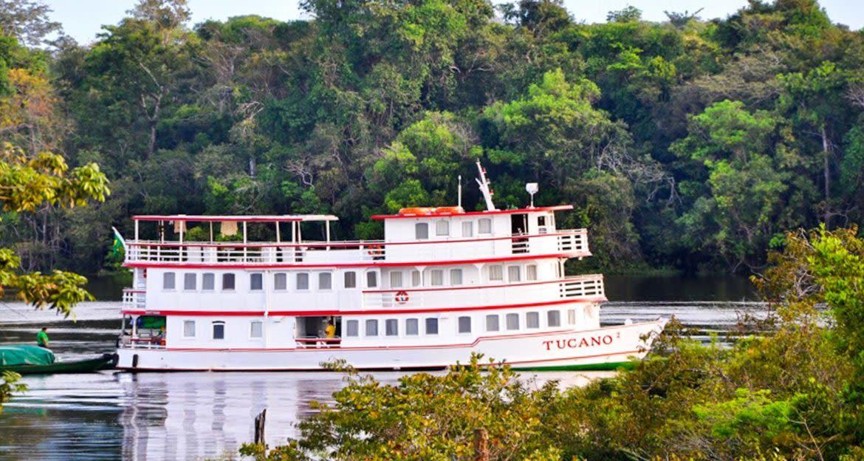 Tucano Amazon river cruise ship