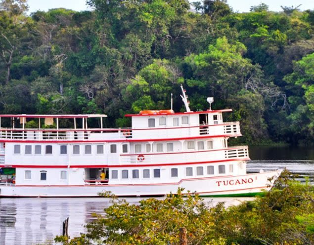 Tucano Amazon river cruise ship