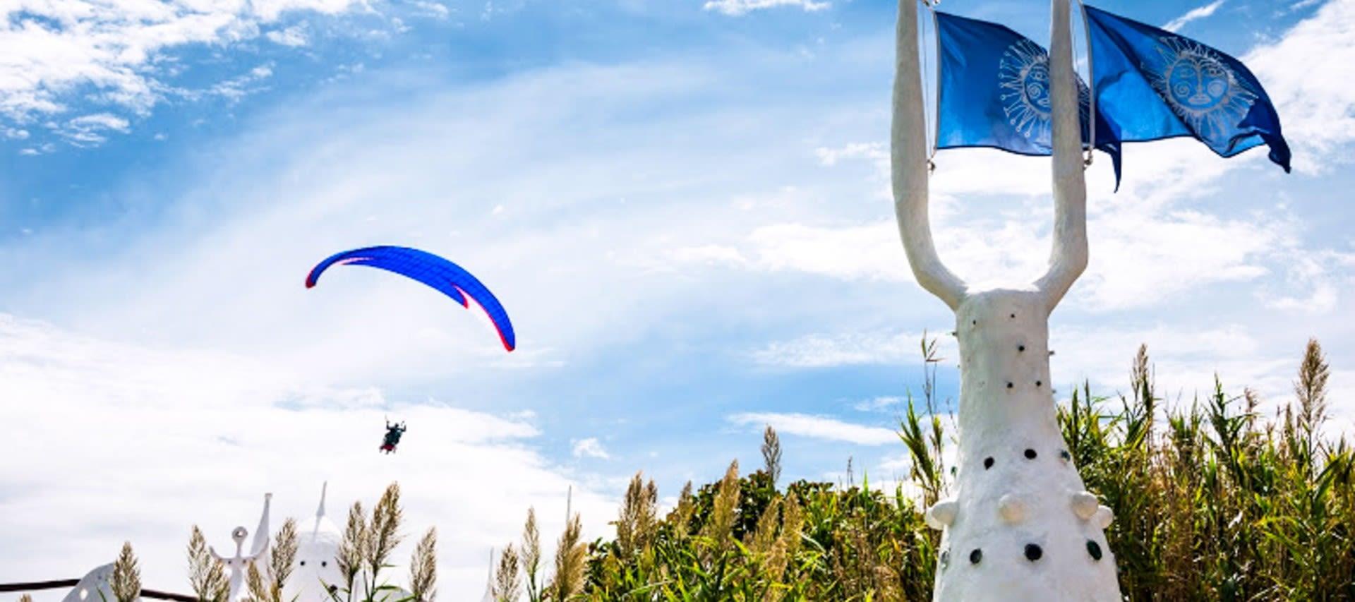 Paragliding in Uruguay