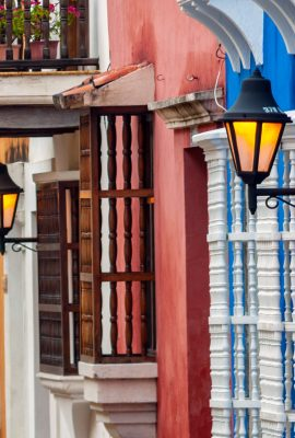 View of Cartagena de Indias on a Colombia tour
