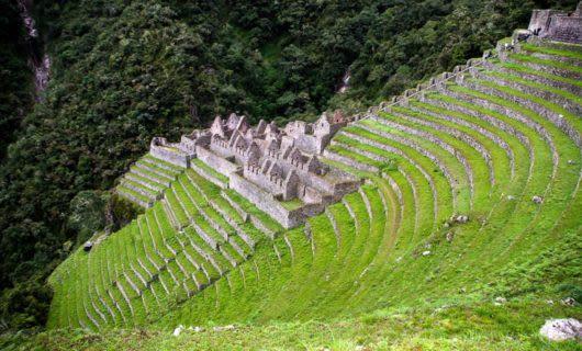 Inca ruins of Winay Wayna