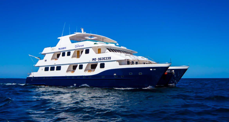 Cormorant Galapagos cruise ship