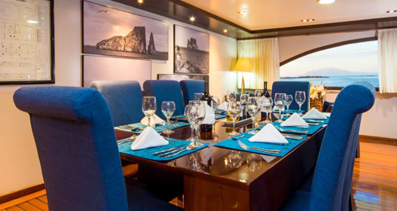 Dining room of Ocean Spray cruise ship