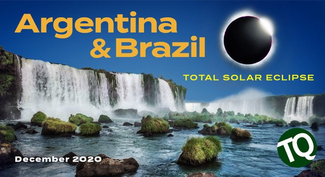 Argentina and Brazil total solar eclipse