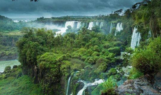 iguazu-falls-from-side-view-on-a-foggy-day