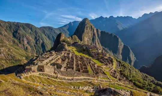 machu-picchu-distant-shot-and-surrounded-by-mountains