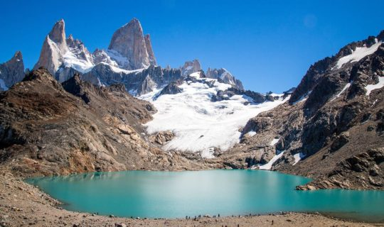 patagonia-view-of-torres-del-paine-with-blue-lagoon
