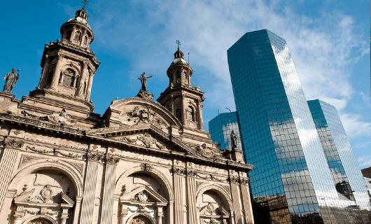 Plaza de Armas in Santiago, Chile