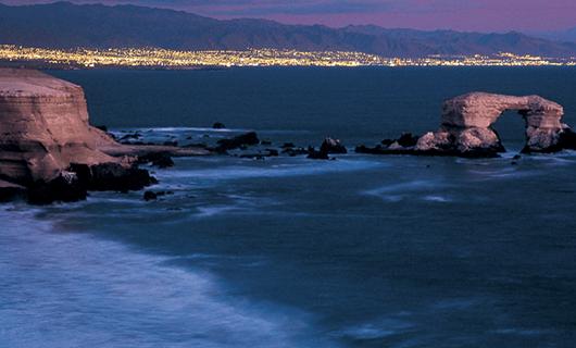 Antofagasta at night