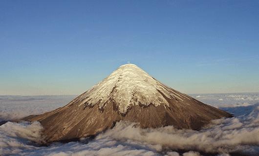 Dramatic Villarrica Volcano
