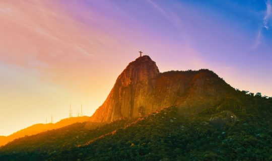 corcovado-mountain-at-sunset-with-christ-the-redeemer