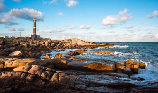 uruguay-coast-with-rocky-beach-and-light-house